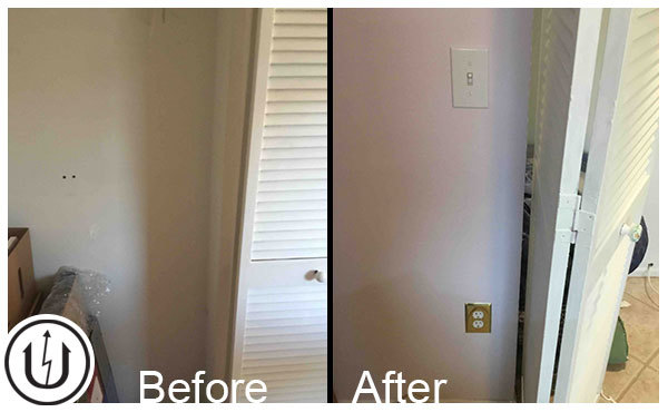 Installing Light Switch & Outlet